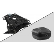 TC064 Top Case URBAN ABS. 16-29 l. ADVENTURE-RACK Black. BMW F 650/700/800 GS.