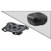 TC070 Top Case URBAN ABS. 16-29 l. ADVENTURE-RACK. Negro. BMW F 750 / 850 GS (18-).