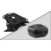 TC072 Top Case URBAN ABS. 16-29 l. ADVENTURE-RACK Black. Triumph Tiger 800 Modelle (10-16)