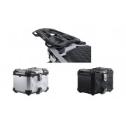 * 0ATCTIADR009 / Top Case. Trax ADV (Negro/Plata) / ADVENTURE-RACK Black. BMW S1000 XR (15-).