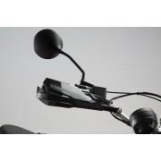 CP006 Kit de protectores de manos KOBRA. Negro. Ducati Scrambler (14-)/ Sixty2 (15-).