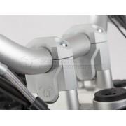BR005 ELEVADOR DE MANILLAR (PLATA, NEGRO). BMW R 1200 GS LC  13- // BMW R 1200 GS LC ADVENTURE  13-