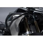 BD002 Protecciones de motor superiores.  ACERO NEGRAS. BMW R1200GS LC/Rallye (16-), R1250GS (18-).
