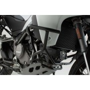 D0010B Defensa. Ducati Multistrada (16-). Negro.