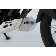D0011B Caja de herramientas para protector de motor. Plateado.