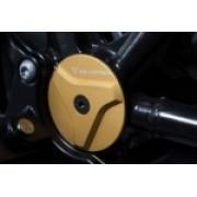D029A Set de tapones para el chasis.Dorado SW-MOTECH BMW R nineT (14-)