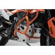 D009 Protecciones bajas de motor KTM 790 Adventure KTM 790 (19-21). Naranjas