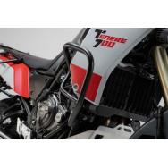 D040 Protecciones laterales de motor. Negro. Yamaha Ténéré 700 (19-).