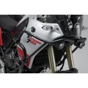 D040 Protecciones superiores de motor. Negro. Yamaha Ténéré 700 (19-).