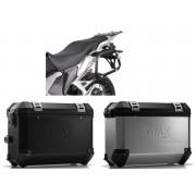 * MLTI003 Maletas Laterales TRAX ION (Plata o Negro) Soporte EVO Honda VFR 1200 X Crosstourer (12-)