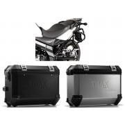 * MLTI010 Maletas Laterales TRAX ION (Plata o Negro) Soporte EVO Suzuki DL 650 (11-16)