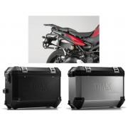 * MLTI015 Maletas Laterales TRAX ION (Plata o Negro) Soporte EVO Yamaha MT-09 Tracer (14-18)