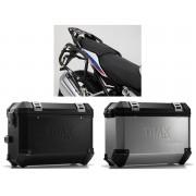 * 0MLTIPRO0024 Maletas Laterales TRAX ION (Plata o Negro) Soporte EVO BMW R 1200 R/RS (15-), R 1250 R (18-).