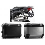 * 0MLTIPRO0022 Maletas Laterales TRAX ION (Plata o Negro) Soporte EVO BMW F800 R (09-) / F800GT (13-)