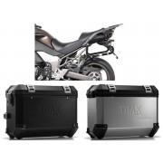 * MLTI023 Maletas Laterales TRAX ION (Plata o Negrp) Soporte EVO Kawasaki Versys 1000 (12-14)