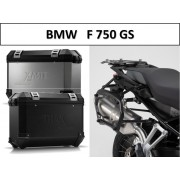 * 0MLTIPRO001 Maletas Laterales TRAX ION (Plata o Negro) Soporte PRO BMW F750GS (17-)