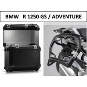* 0MLTIPRO003 Maletas Laterales TRAX ION (Negro/Plata) Soporte PRO BMW R1250GS / Adventure (18-)