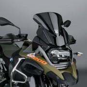 PN09 Z Technik / Parabrisas gris obscuro / VStream® Sport para BMW® R1200 / 1250 GS / GSA