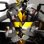 EE01 Extensores de espejo ZTechnik® para BMW® F650 / 700 / 800GS
