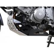 A032 Aluminum Engine Guard/Skidplate / (Suzuki DL650 V-Strom, '04-'11)