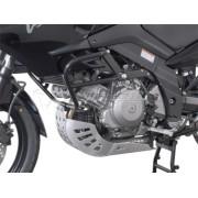 A034 Aluminum engine guard/skidplate / (Suzuki DL1000 V-Strom, '02-'10) / (KAWASAKI KLV 1000).