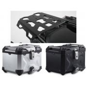 * TCTAD016 / TOP CASE. TRAX ADVENTURE (Negro/Plata) / ALU RACK Yamaha MT-09 TRACER (14-)