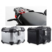 * TCTAD0032 / TOP CASE. TRAX ADVENTURE (Negro/Plata) / ALU-RACK BMW F 800 S / ST / R / GT.