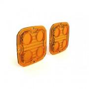 FA0007 Kit de lentes DENALI TriOptic para luces D4 2.0   Ámbar