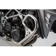 BD007 Protecciones laterales de motor. Acero inoxidable. BMW F 650/700/800 GS.